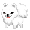 Etah the Samoyed Puppy - virtual item (donated)